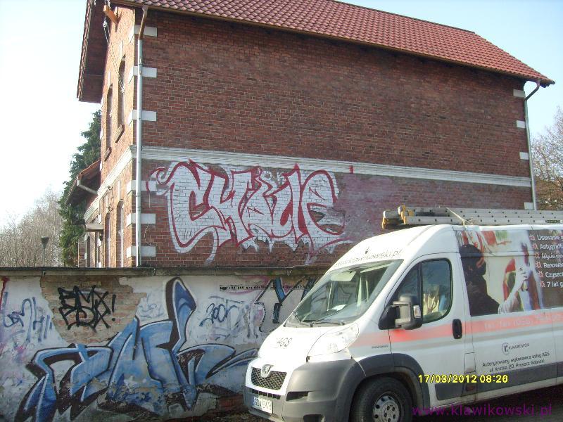 Usuwanie graffiti 1-1