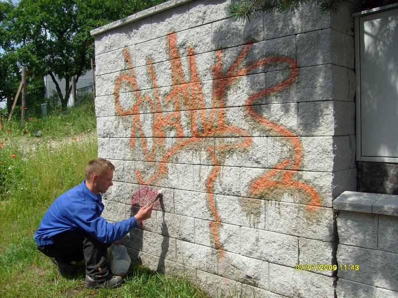 Usuwanie graffiti - 10 - 1